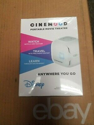 NEW!!! DISNEY CINEMOOD Portable Movie Theatre cnmd0016wt   Free Shipping!!!!