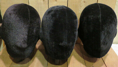 Lot of Mannequin Heads for Hair Wig Hat Display Storage Holders Store Fronts