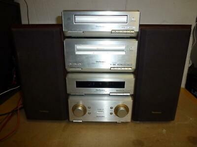 Technics Hd350 Component Stereo System With Remote-Superb Quality