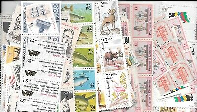 U S Discount Postage 100 1St Class 3 Stamp .55 Combo Full Gum