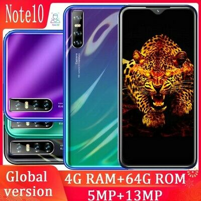 "P30 Pro 6.3"" Water drop screen quad core smartphones 4GRAM 64G ROM 13mp Face ID"
