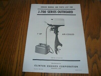 clinton k751,seaking k751,parts list,owners manual