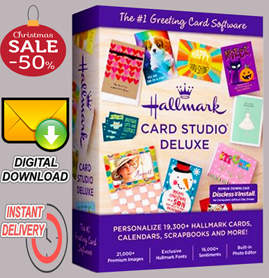 🔥 Hallmark Card Studio 2020 Deluxe 🎁 Full Version 🎁 Fast Delivery 📥 🔥