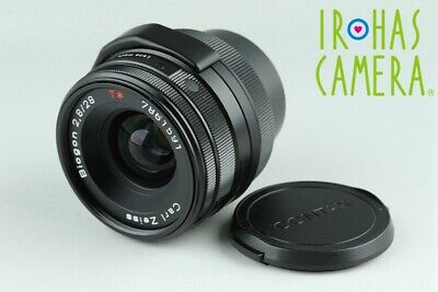 Contax Carl Zeiss Biogon T* 28mm F/2.8 Lens In Black for G1/G2 #24403 A1
