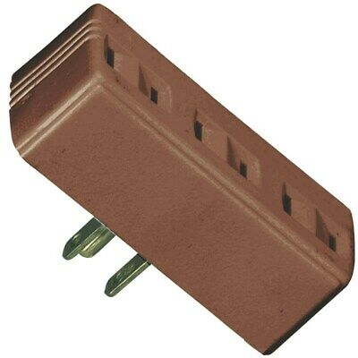 Tap 3outlet Polarized2p/3w Brn,No BP1747B,  Cooper Wiring Devices Inc, 3PK