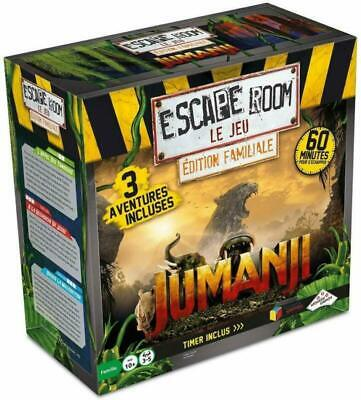 RIVIERA GAMES Escape Room – The Game – Jumanji Family Edition of 3 Different