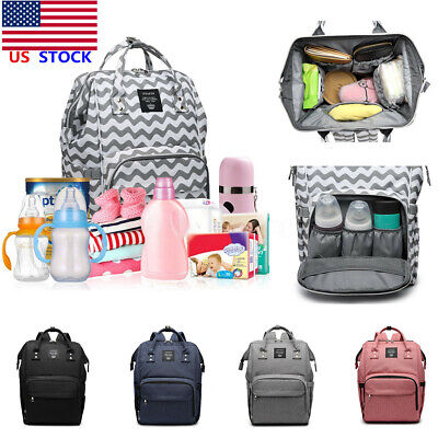 LEQUEEN Mummy Baby Diaper Bag Waterproof Maternity Nappy Travel Backpack 2020 US