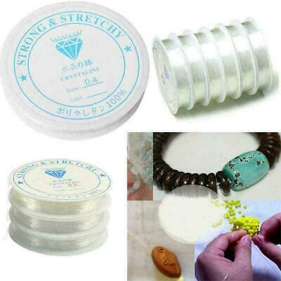 Elastic Stretchy Beading Thread Cord Bracelet String For Jewelry Making 0.4- 1.0