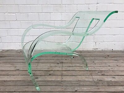 "Plexiglass Chair after Gerald Summers"" Bent ""Plywood Lounge ca.1970 Vintage"