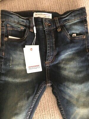 MINOTI boys jeans age 6-7. New, with tags
