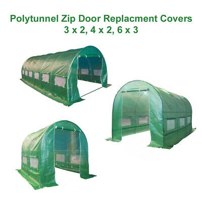 Replacement Cover For Polytunnel Greenhouse Pollytunnel 3m 4m 6m Heavy Duty Poly