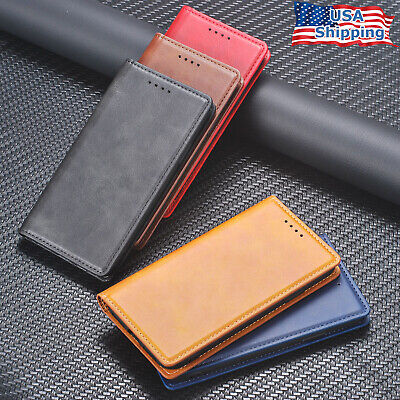 For iPhone 11 Pro XS MAX X XR 6 7 8 Plus Magnetic Wallet Leather Case Flip Cover