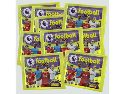 Panini's Football 2020 - Premier League Stickers 10 x Packets (50 Stickers)