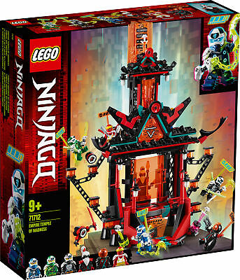 71712 LEGO NINJAGO Empire Temple of Madness 810 Pieces Age 9 Years+