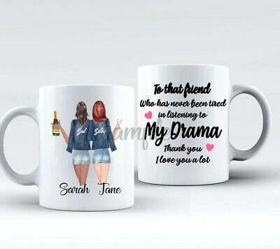 Personalised Best Friend Mug! with choices My Drama soul mates