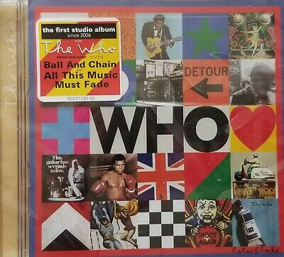 The Who  ~ WHO ~ Brand New Sealed CD. 2019