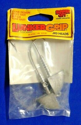 Lunker Grip 2.75oz Slug-Go Jig Head 11//0 Hook