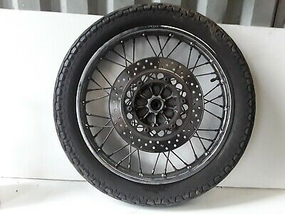 Yamaha Sr125 1994 To 2002 Front Wheel and Disc