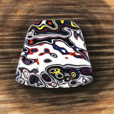 Fordite Cabochon Jewelry Polished Piece