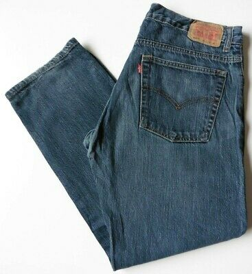 Boys' Men's Levis 505 Straight Leg Jeans W33 L28 Blue Levi Strauss Size 33S