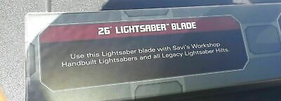 26'' Inch Blade for Legacy Lightsaber Hilt Disney Star Wars Galaxy's Edge - NEW!