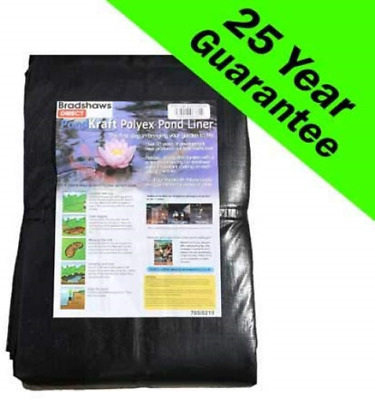 PondKraft Pond liner - 25 Year Guarantee 4.0m x 4.0m