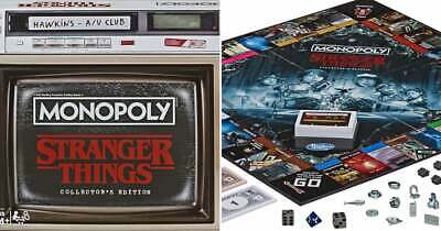 Stranger Things Monopoly Collector's Edition *Sealed/New*