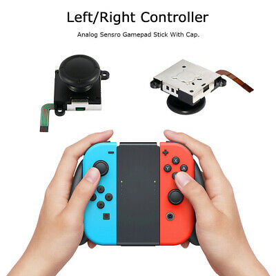 7Pcs Analog Joystick Replacement 3D Thumb Stick For Nintendo Switch NS Joy-Con