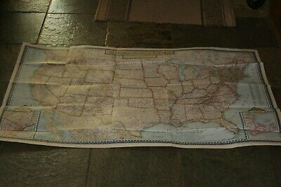 VINTAGE NATIONAL GEOGRAPHIC  June 1951 MAG. MAP Vol XCIX #6 UNITED STATES