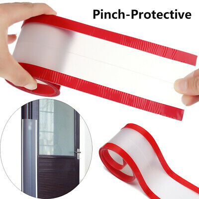 Kids Child Safety Anti-pinch Guards Door Protection Strip Pinch-Protective