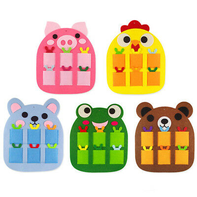 Cute Pet Auxiliary Game Aids Chicken Bear Frog Pig Card Area Kids Toy Popular BA