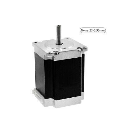 Aibecy Nema 23 Stepper Motor with Motor Leads Shaft Diameter 6.35mm High V7U2