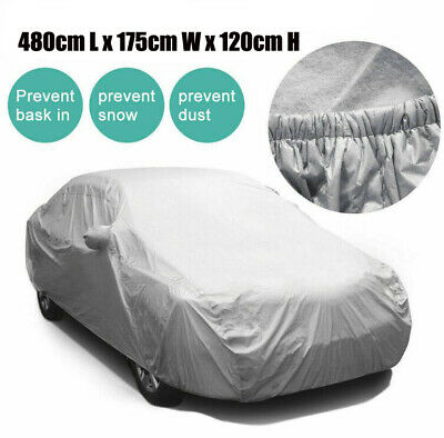 Universal Heavy Duty Large Full Car Cover UV Protection Waterproof Breathable UK
