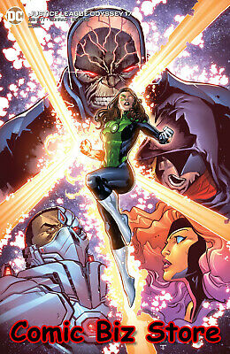 Justice League Odyssey #17 (2020) 1St Printing Lashley Variant Cover Dc Comics