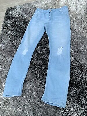 Boys River Island  Skinny Jeans Age 11 Years