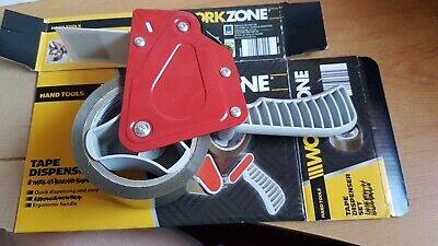 WORKZONE tape dispenser with roll of tape attached but NO other tape included