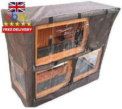 Bunny Business Hutch Cover For Double Decker Hutch, 41-Inch
