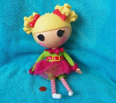 Lalaloopsy Holly Sleighbells Full Size Doll With Pet Retired Reindeer