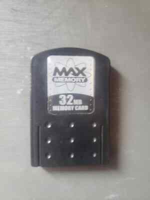 MAX MEMORY CARD 32MB for Sony Playstation 2 - PS2 System