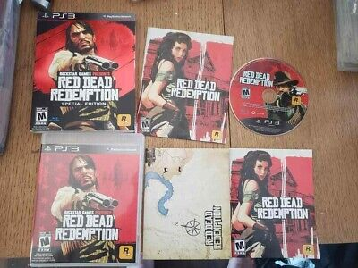 Red Dead Redemption Special Edition (PlayStation 3 2010) Complete W Map CIB PS3