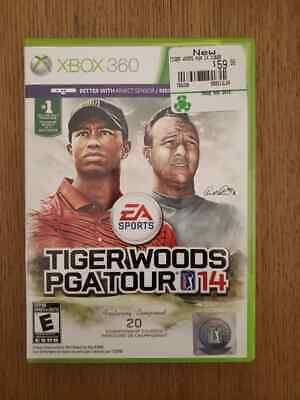 Tiger Woods PGA Tour 14 Microsoft Xbox 360 Brand New Free 48 Hour Live Gold Pass