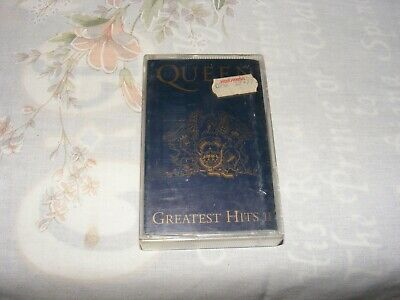 Queen, Greatest Hits 2 II compilation Cassette Tape (EMI, 1991) play tested