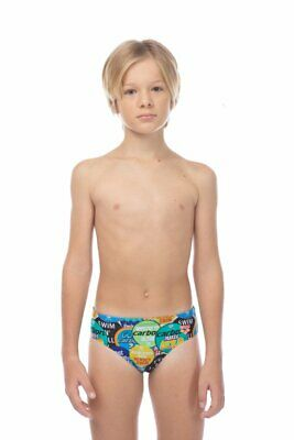 Arena - B Watchword Jr Brief - Shiny Green/Multi Size 26 (001753-661) - 50% Off