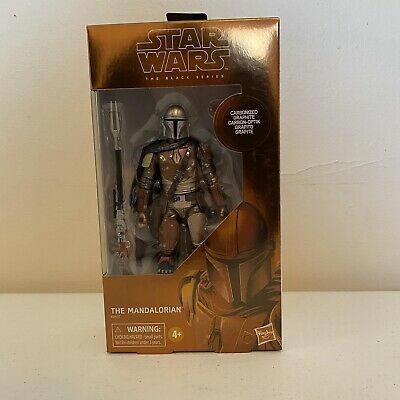 "THE MANDALORIAN #94CARBONIZED TARGET EXCLUSIVE STAR WARS 6/"" BLACK SERIES NEW"