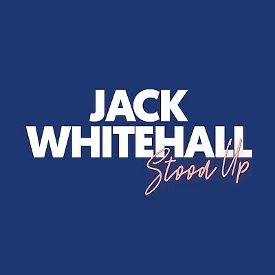 Jack Whitehall - Stood Up 4 x House Tickets Comedy Show Adelaide