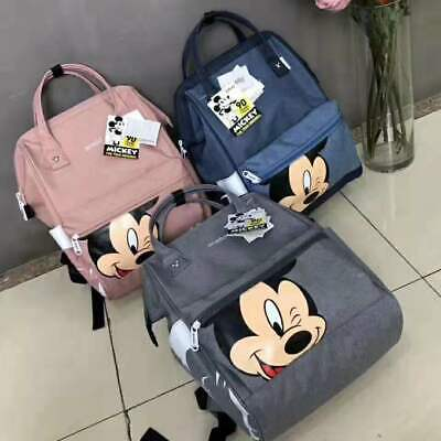 Disney Mickey mouse backpack multi-function large capacity backpack diaper bag