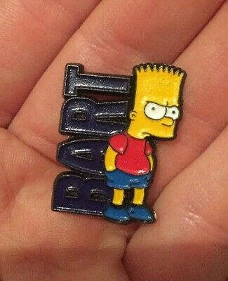 The Simpsons BART Simpson Enamel Pin Badge Cartoon Character Stamped Sedesma