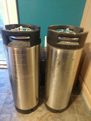 "Spartanburg Steel Products ""Challenger VI"" 5 Gallon Stainless Steel Syrup Tank"