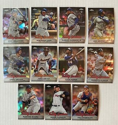 2019 Topps Chrome Update | FAMILY BUSINESS Refractor Insert | YOU PICK FREE SHIP