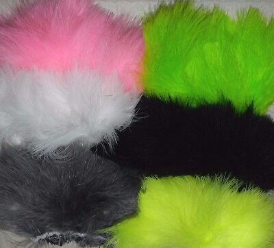 4 quills//plumes dyed claret Marabou